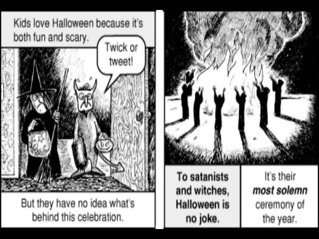 Witches Religious Tract