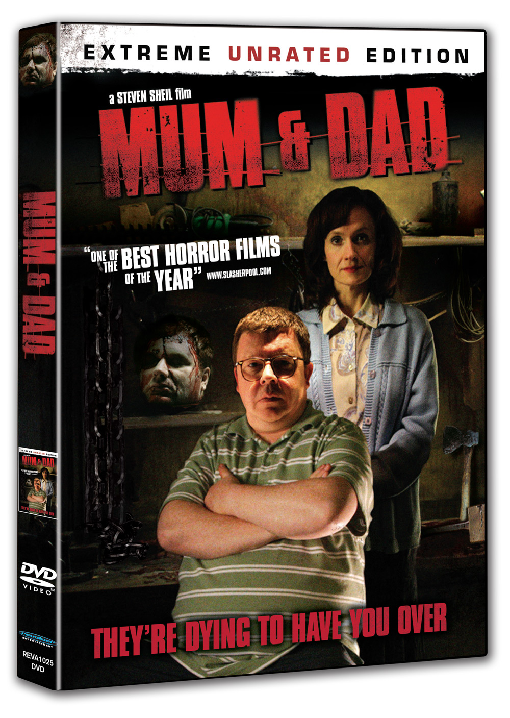 win mum dad dvd 39 s bloody good horror horror movie reviews podcast news and more. Black Bedroom Furniture Sets. Home Design Ideas