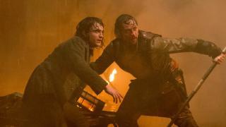 James McAvoy and Daniel Radcliffe struggle to survive in Victor Frankenstein