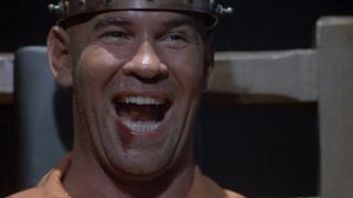 Mitch Pileggi stars as the demented killer Horace Pinker in Shocker