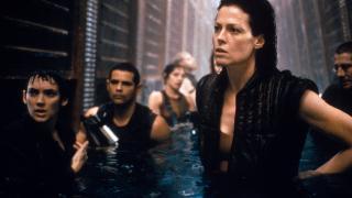 Sigourney Weaver prepares for battle in Alien: Resurrection