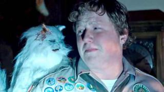 Scout encounters zombie cat