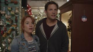 Maria Thayer and Michael Cassidy star in Night of the Living Deb