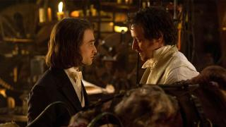 "McAvoy and Radcliffe star in ""Victor Frankenstein"""